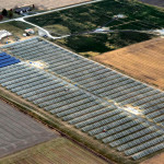 Arial Utility Solar